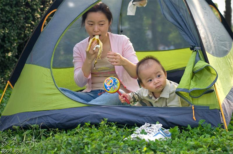 大宁绿地 帐篷