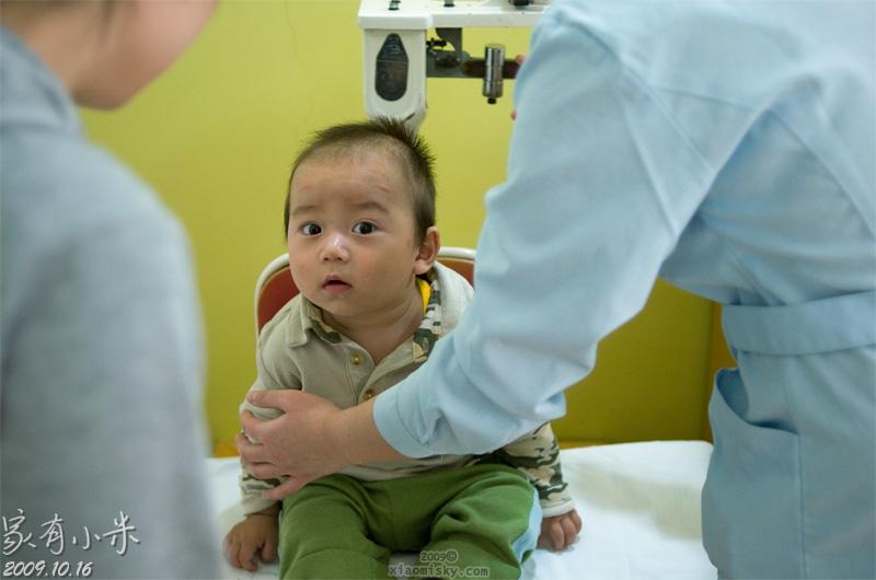 小米宝宝一周岁体检