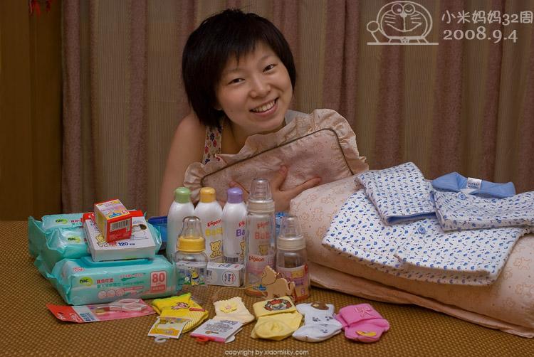 为小米囤积婴儿用品
